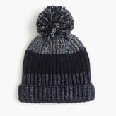J.Crew Italian wool-blend striped hat