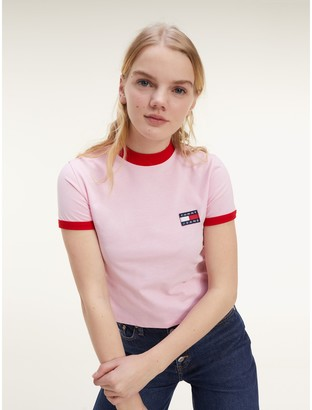 Tommy Hilfiger Contrast Collar T-Shirt