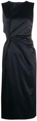P.A.R.O.S.H. Draped Satin Dress