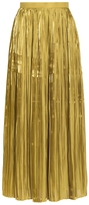Tibi Pleated Sunray Skirt