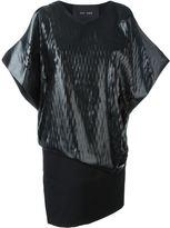 Jay Ahr contrast layer dress
