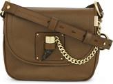 MICHAEL Michael Kors James medium leather saddle bag