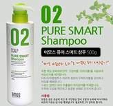 AMOREPACIFIC amos scalp pure smart shampoo for dandruff scalp, made in Korea, kstyle, anti-dandruff by AMOS