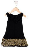 Alice + Olivia Girls' Embellished Sleeveless Dress