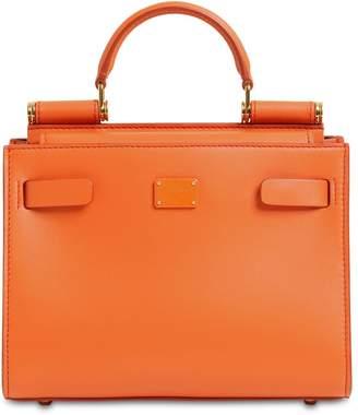 Dolce & Gabbana SICILY 62 MINI LEATHER TOP HANDLE BAG