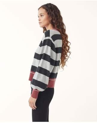 Splendid Cashmere Stripe Sweater