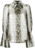 G.V.G.V. ruffle cuff shirt - women - Rayon - 34