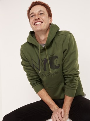 Old Navy New York Graphic Pullover Hoodie for Men