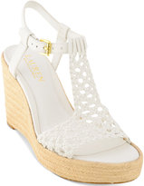 Lauren Ralph Lauren Hailey Wedge Sandals