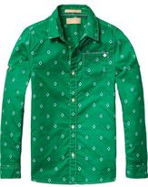 Scotch & Soda Printed Lightweight Shirt