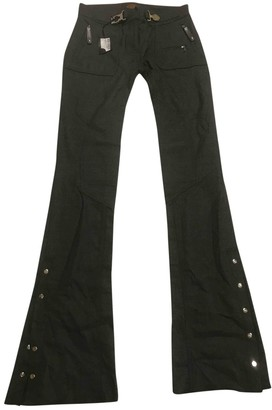 Tod's Grey Wool Trousers for Women