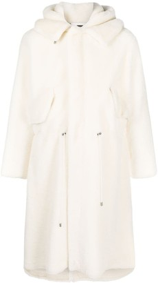 Mr & Mrs Italy x Nick Wooster shearling midi coat