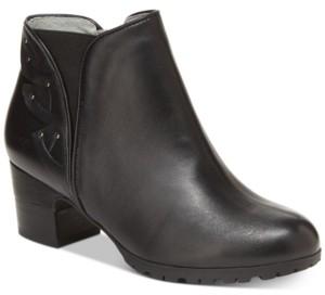 Jambu Women's Roma Block-Heel Booties Women's Shoes