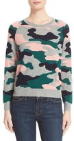 Chinti and Parker Women's Camo Intarsia Wool & Cashmere