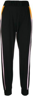 NO KA 'OI No Ka' Oi stripe detail track trousers