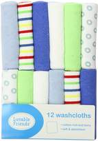 Luvable Friends 12 Pack Washcloths