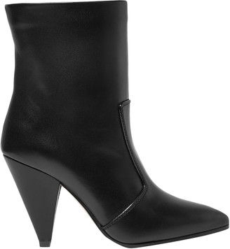 Stuart Weitzman Atomic West Leather Ankle Boots