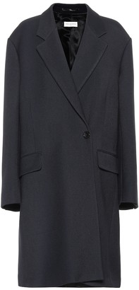Dries Van Noten Wool and silk coat