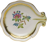 Herend Queen Victoria Green Shell Dish
