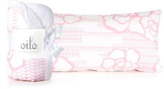 Oilo Capri Cuddle Blanket & Lumbar Pillow Set
