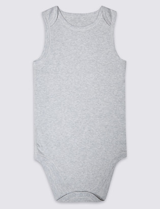 Marks and Spencer Adaptive Pure Cotton Bodysuit (3-16 Years)