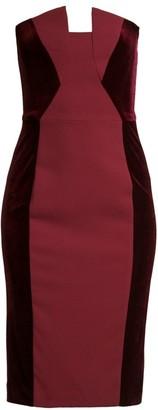 Black Halo Lena Strapless Sheath Dress