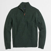 J.Crew Factory Slim lambswool half-zip pullover sweater
