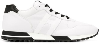 Hogan Low-Top Lace-Up Sneakers