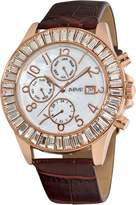 August Steiner Women's ASA837RG Swiss Quartz Baguette Bezel Watch