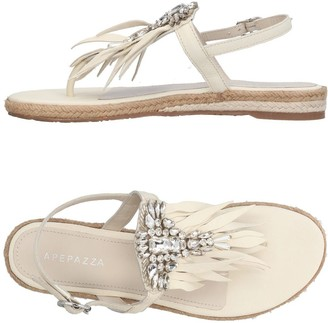 Apepazza Toe strap sandals