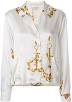 Natasha Zinko jewellery print shirt