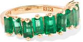 Suzanne Kalan 18-karat Gold Emerald Ring - 6