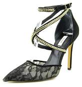 GUESS Adabellely Lace Pointed-toe Pumps.