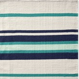 Williams-Sonoma Williams Sonoma Strata Stripe Indoor/Outdoor Rug, Teal