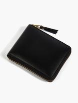 Comme Des Garcons Wallet Black Classic Leather Wallet