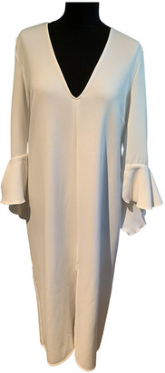 Ellery Ecru Polyester Dresses