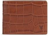 Trask Men's 'Jackson' Super Slim Leather Wallet - Black