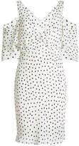 McQ Printed Crepe Dress