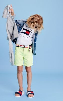 Tommy Hilfiger Essential Belted Chino Shorts