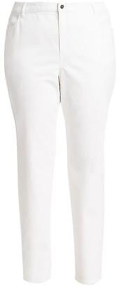 Lafayette 148 New York, Plus Size Thompson Curvy Slim-Leg Jeans