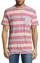 Point Zero Rugby Striped Pocket T-Shirt