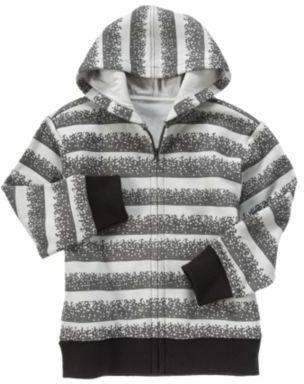 Crazy 8 Digital Stripe Hoodie
