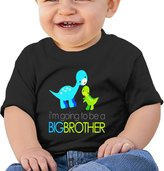 Just Tinge Kids Dinosaur I'm Going To Be A Big Brother Shirt