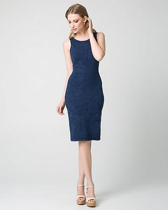 Le Château Cotton Jersey Midi Dress
