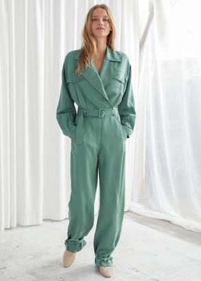 And other stories Belted Oversized Jumpsuit