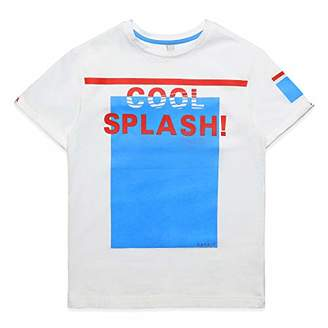 Esprit Boys' T-Shirt SS (White 010), (Size : L)