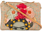 Jamin Puech embellished clutch - women - Cotton/Linen/Flax - One Size