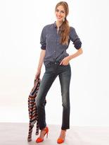 Levi's Jeans Modern Demi Curve Straight Droite Bleu