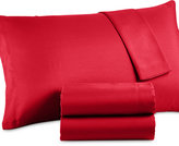 Jessica Sanders CLOSEOUT! Solid Microfiber Queen Sheet Set