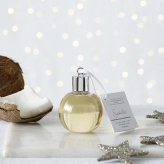 The White Company Seychelles Shower Gel Bauble, No Colour, One Size